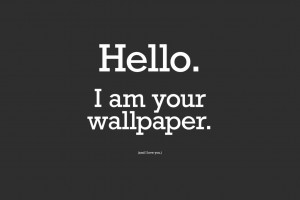 Picture Hello HD Funny Wallpaper