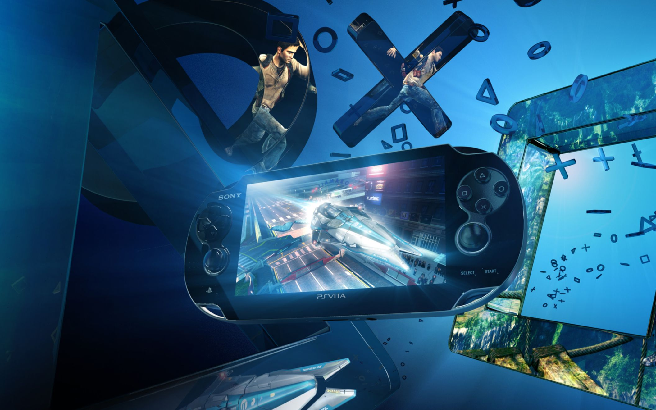 Download free HD Playstation Vita Wide Wallpaper, image