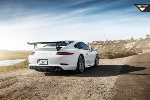 Download Porsche 991 Carrera S Vorsteiner V GT Aero Program Wide Wallpaper Free Wallpaper on dailyhdwallpaper.com