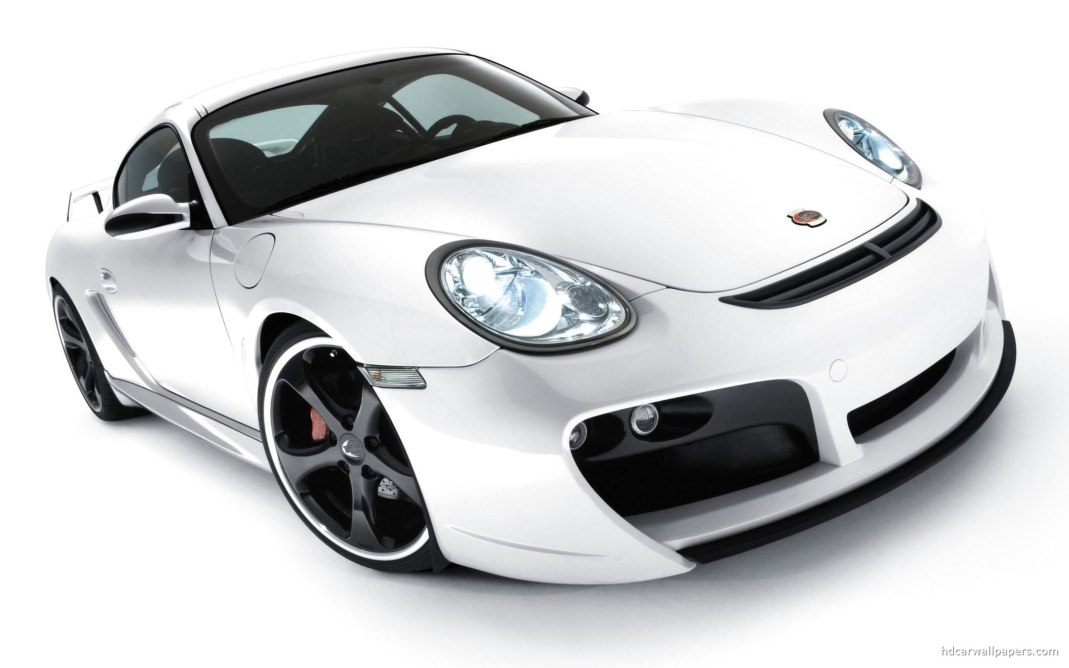 Download free HD Porsche Cayman TechaRT Wide Wallpaper, image