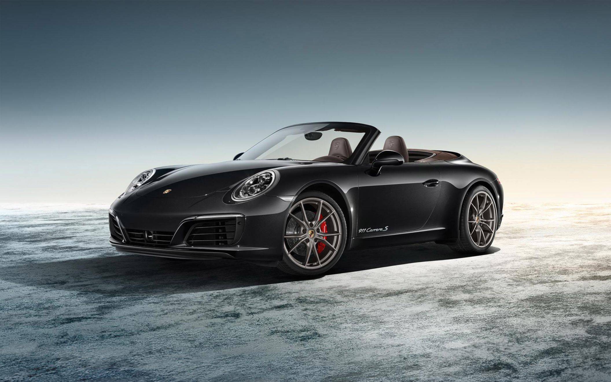 Download free HD Porsche Exclusive 911 Carrera S Cabriolet 2016 Wide Wallpaper, image