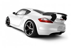 Porsche GT White Wide Wallpaper