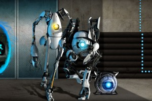 Portal 2 Game Wide Wallpaper