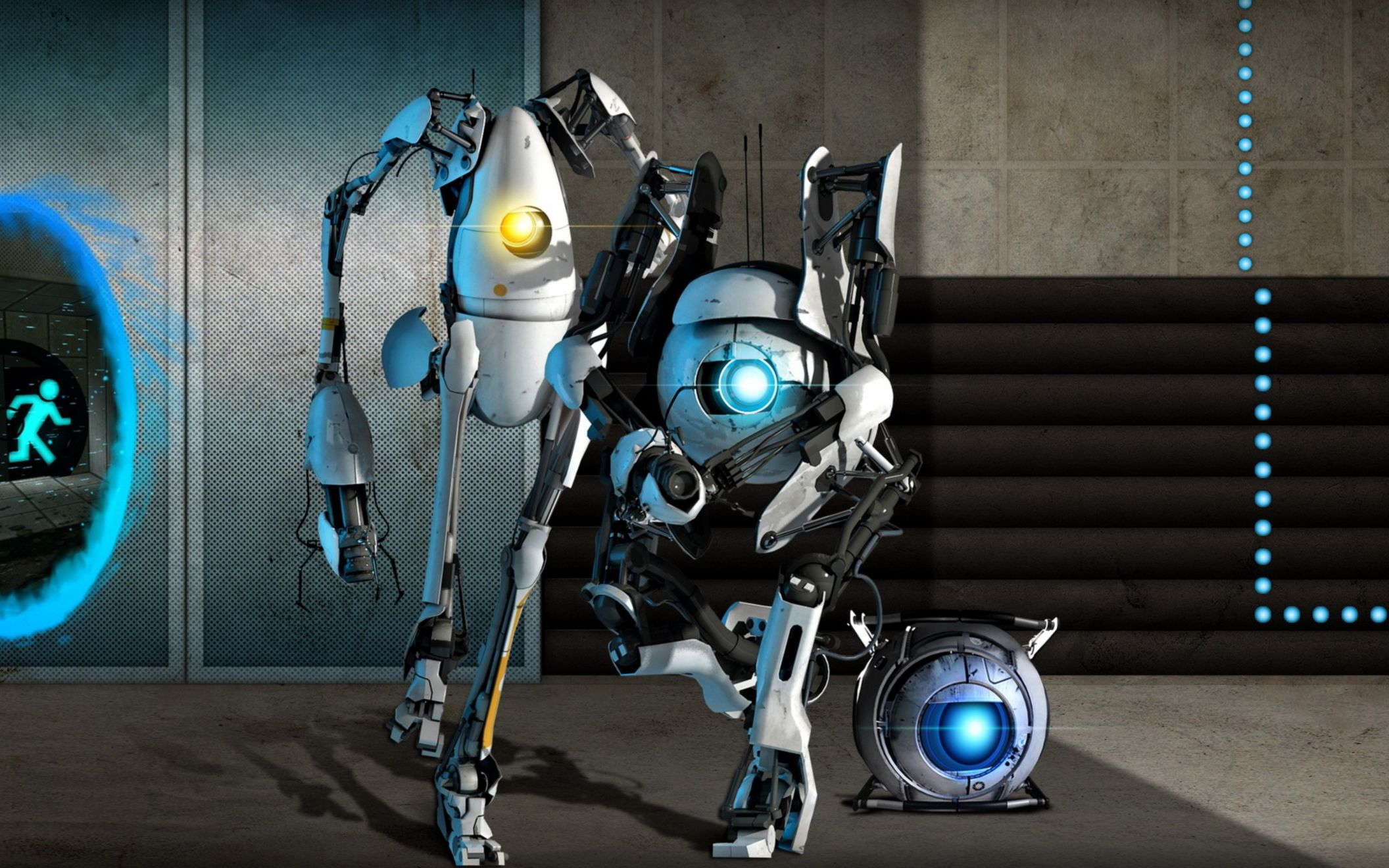 Download free HD Portal 2 Game Wide Wallpaper, image