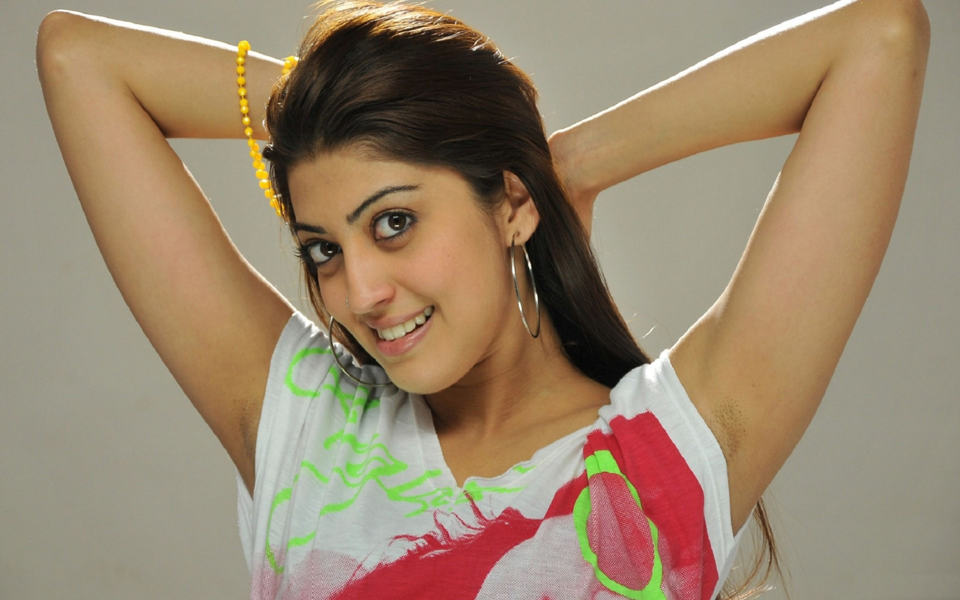 Pranitha Subhash Actress HD Wallpaper