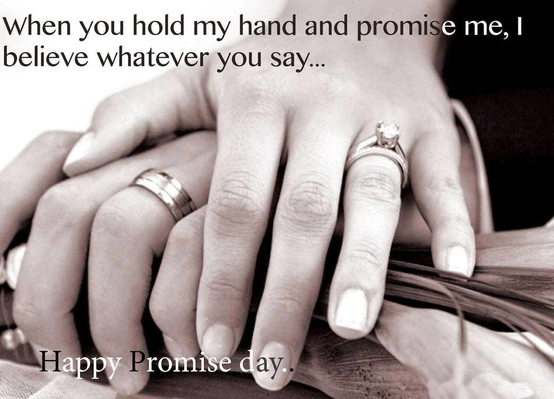 Download free HD Promise Day 2016 Quote Photos Wallpaper, image