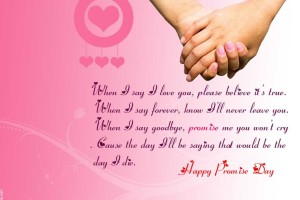 Promise Day Quotes Picture Happy Valentine Day Wallpaper