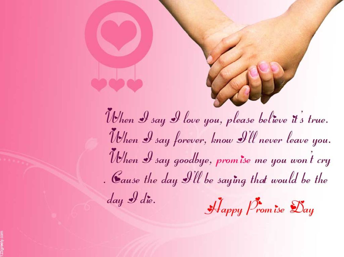 Download free HD Promise Day Quotes Picture Happy Valentine Day Wallpaper, image