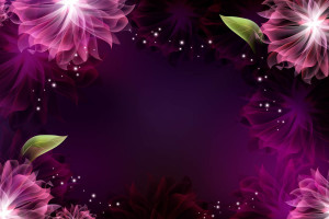 Purple Abstract Art For Invitation Wallpaper
