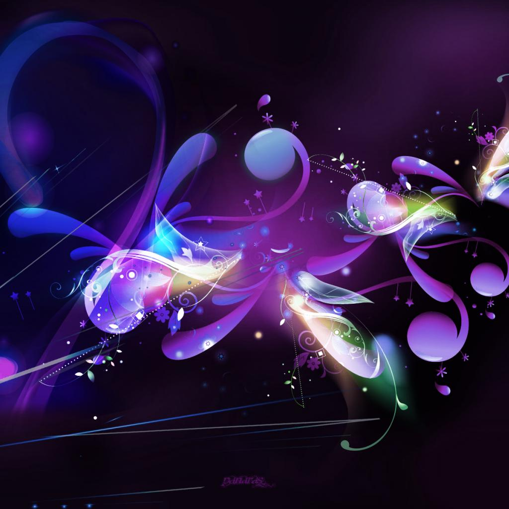 Purple Abstract Art Iphone Wallpaper: Desktop HD Wallpaper