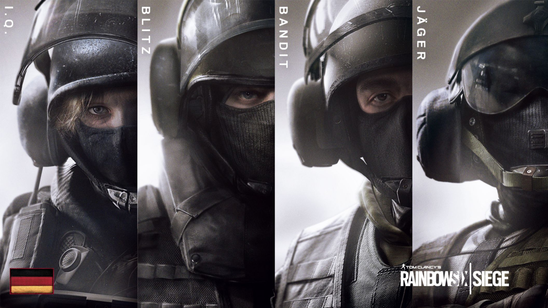 Download free HD Rainbow Six Siege Gsg9 HD Wallpaper, image