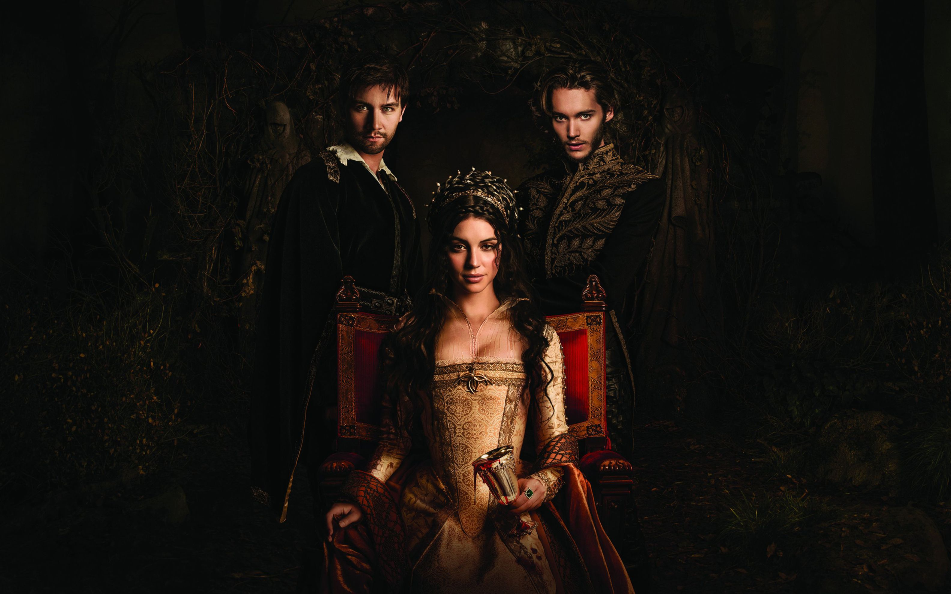 Download free HD Reign TV Series Wide Wallpaper, image
