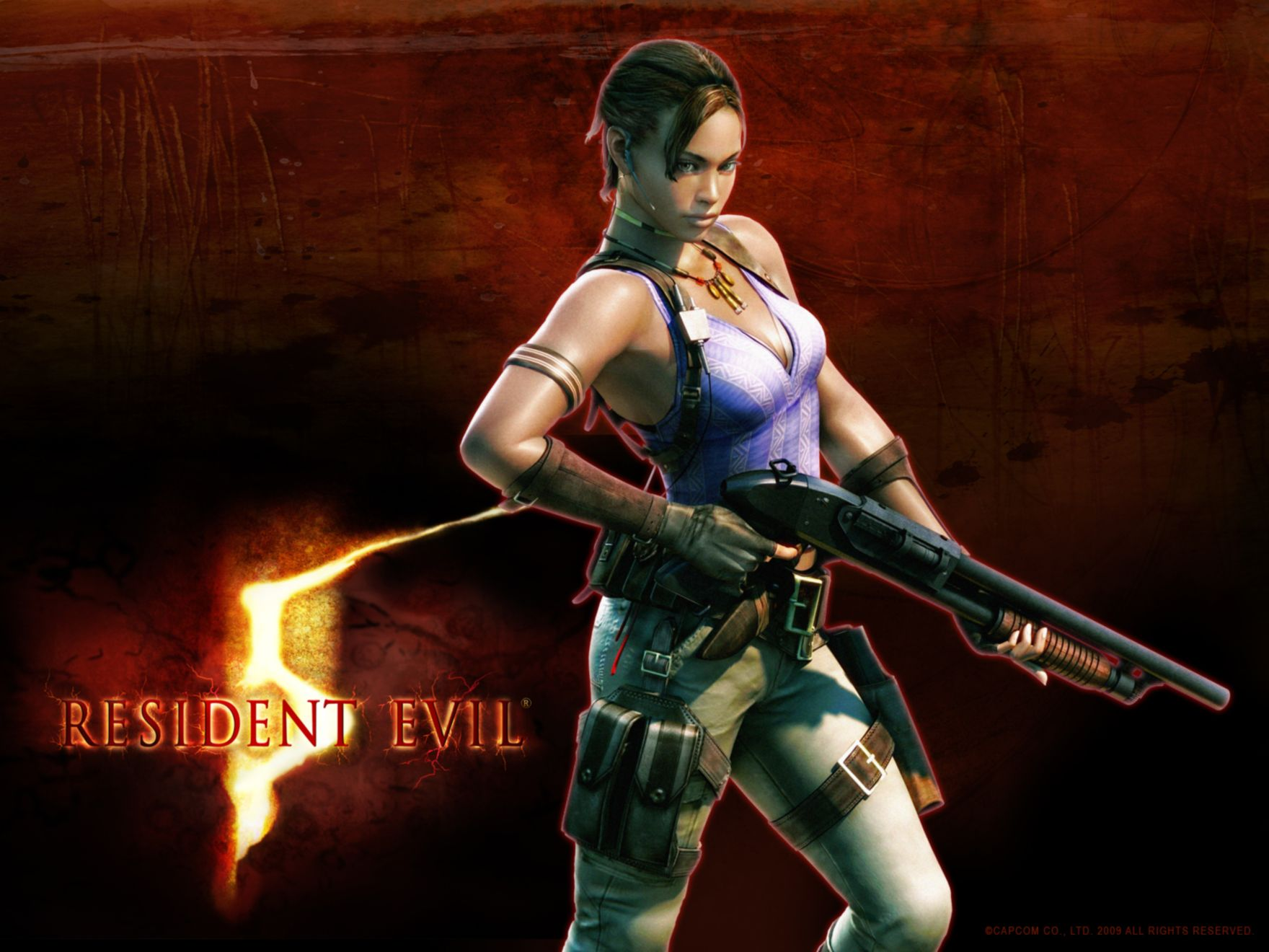 Download free HD Resident Evil 5 Normal Wallpaper, image