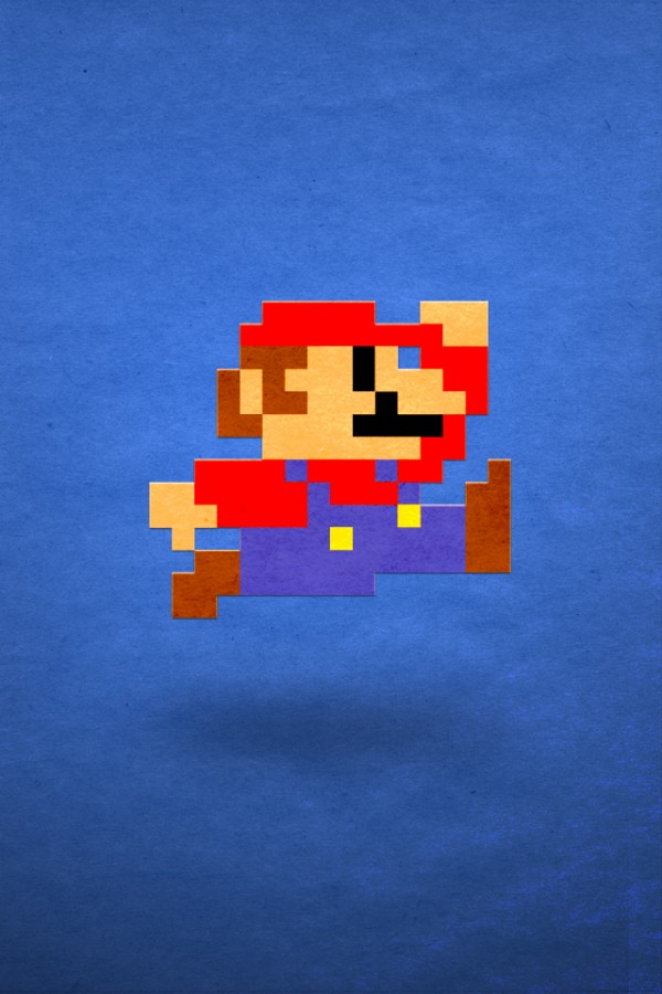 Download free HD Retro Game iPhone Wallpaper, image