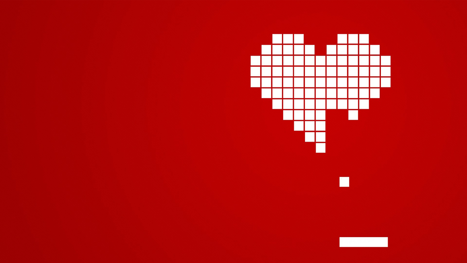 Retro Video Game Desktop Love Wallpaper