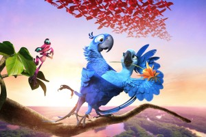 Rio 2 2014 Movie Wide Wallpaper