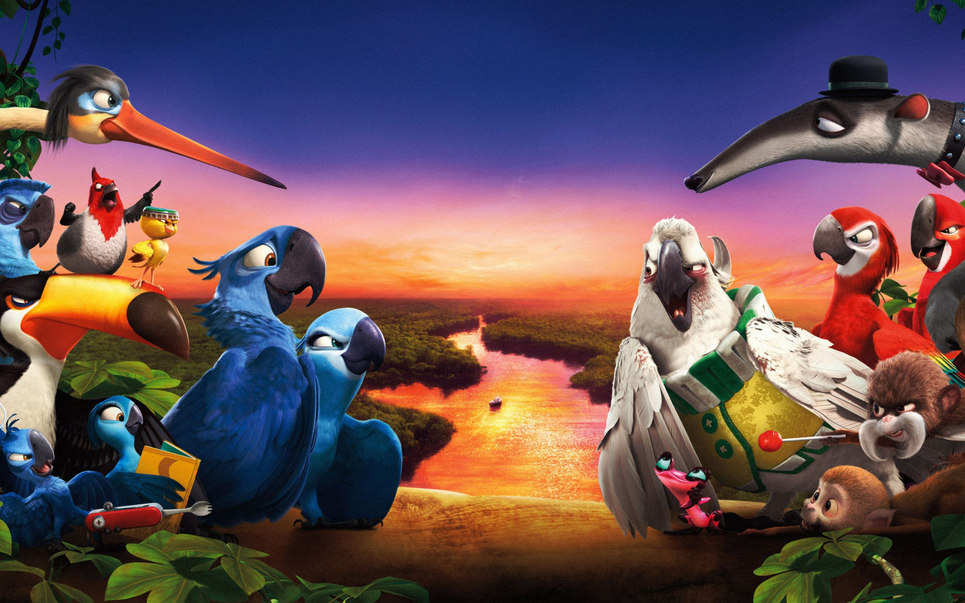 Download free HD Rio 2 Movie 2014 Wide Wallpaper, image