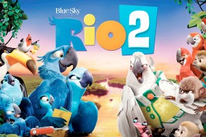 Rio 2 Movie Banner Wide Wallpaper
