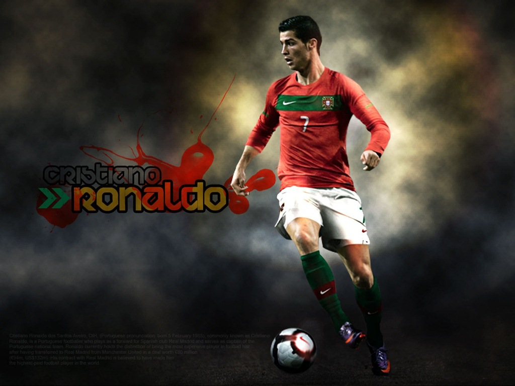 Download free HD Ronaldo 3D Wallpaper, image