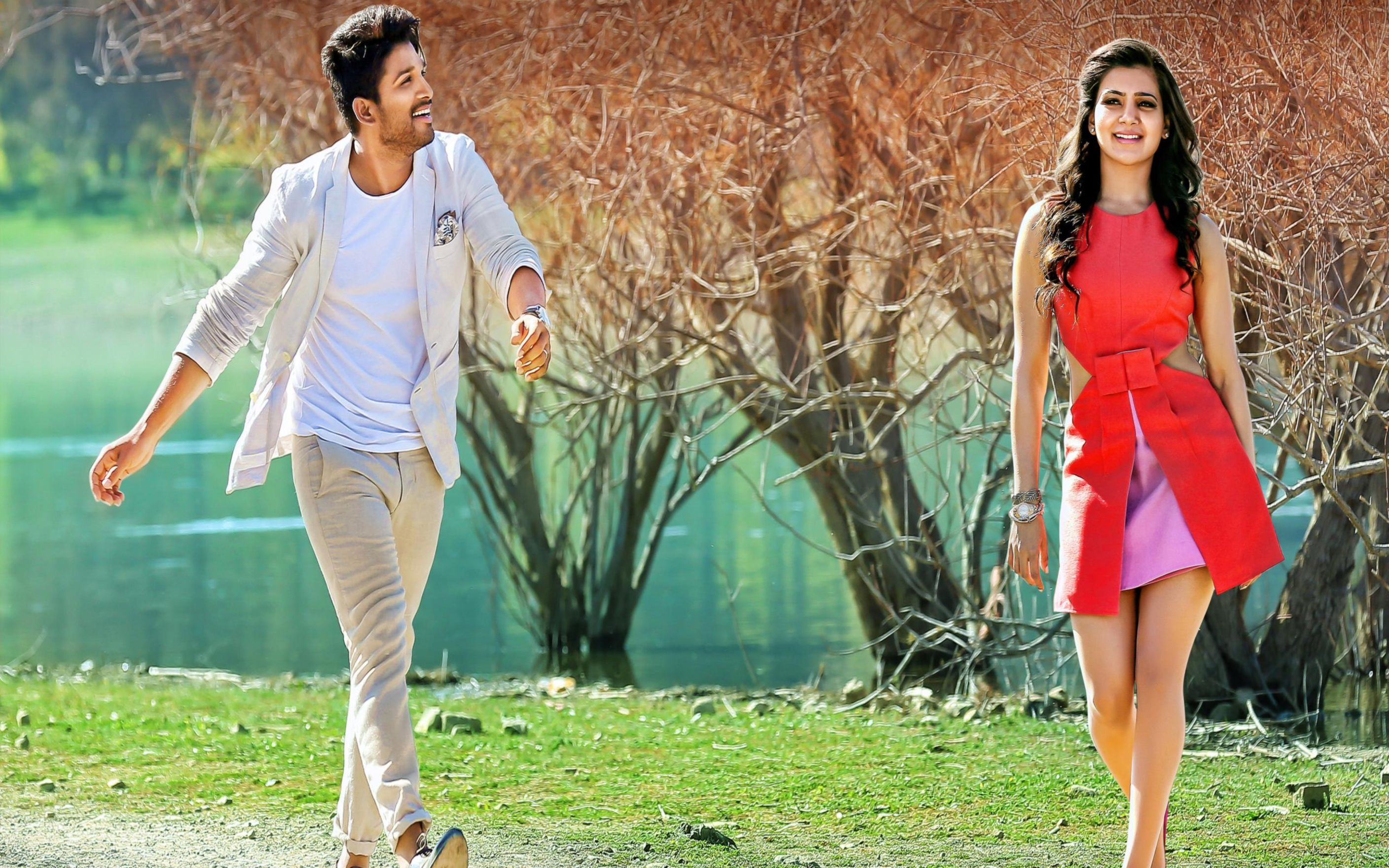 Download free HD Satyamurthy Allu Arjun Samantha Wallpaper, image