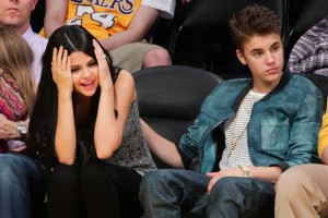 Selena Gomez And Justin Bieber Wallpaper