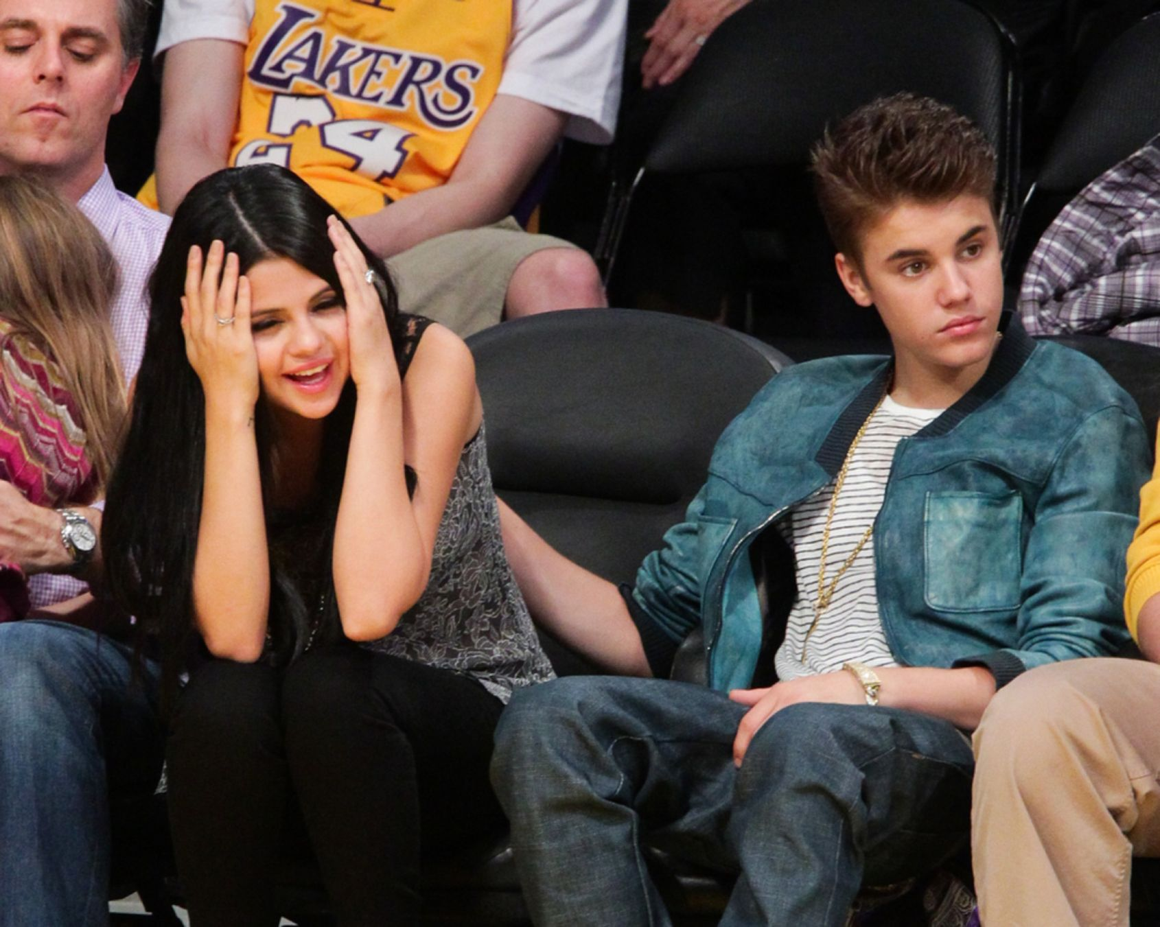 Download free HD Selena Gomez And Justin Bieber Wallpaper, image