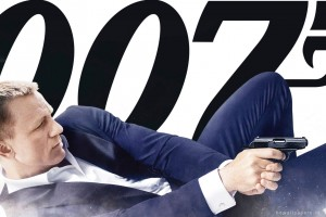 Skyfall Daniel Craig 007 Wide Wallpaper