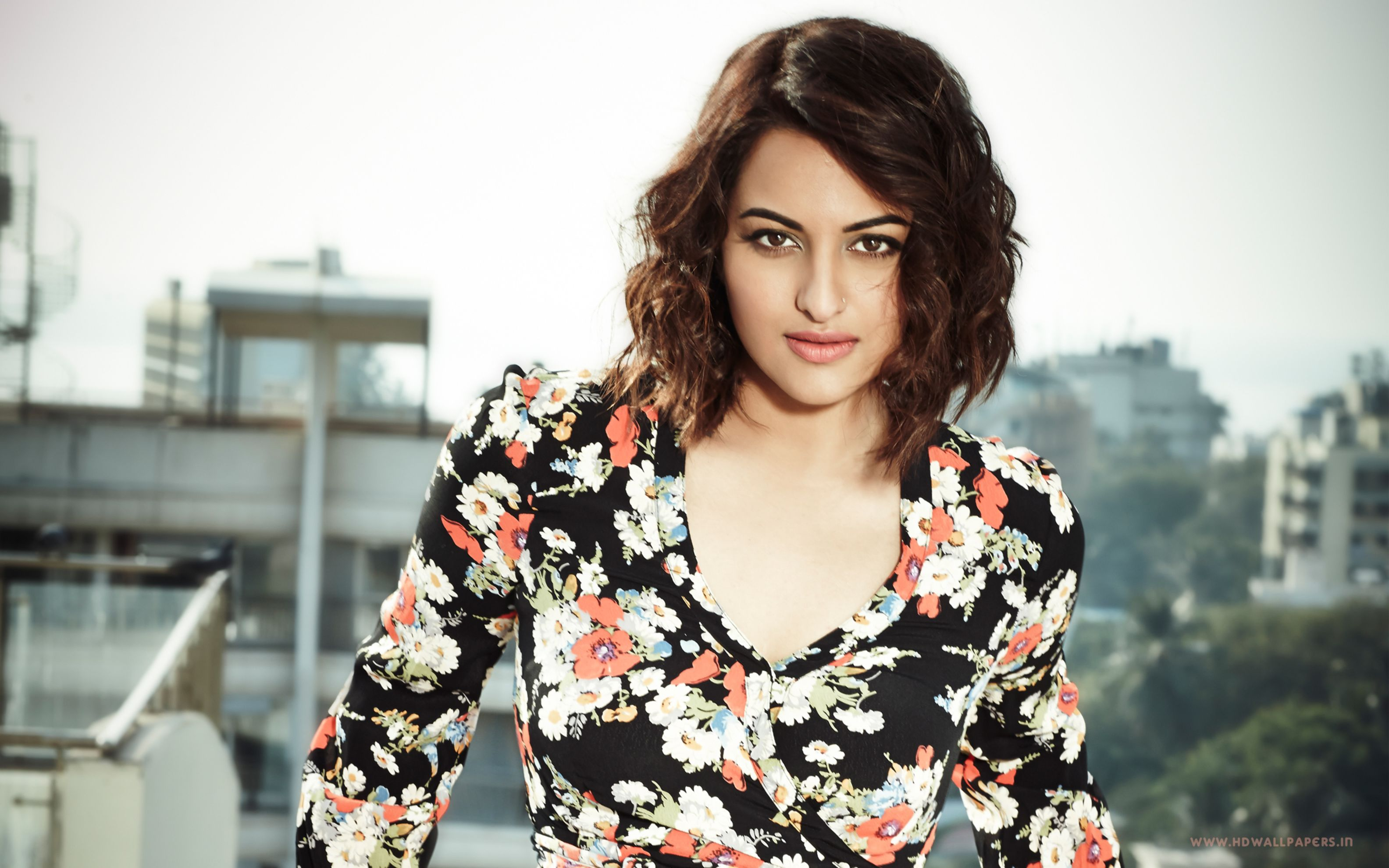 Download free HD Sonakshi Sinha 2017 Wide Wallpaper, image