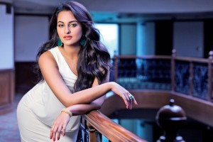 Download Sonakshi Sinha Beautiful White Dress Wallpaper Free Wallpaper on dailyhdwallpaper.com