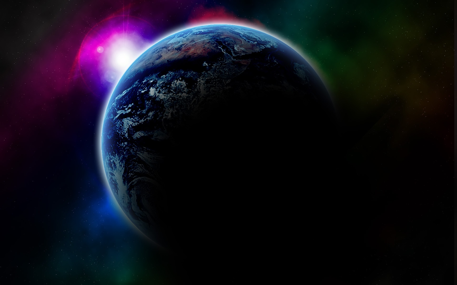 Space 3D Wallpaper
