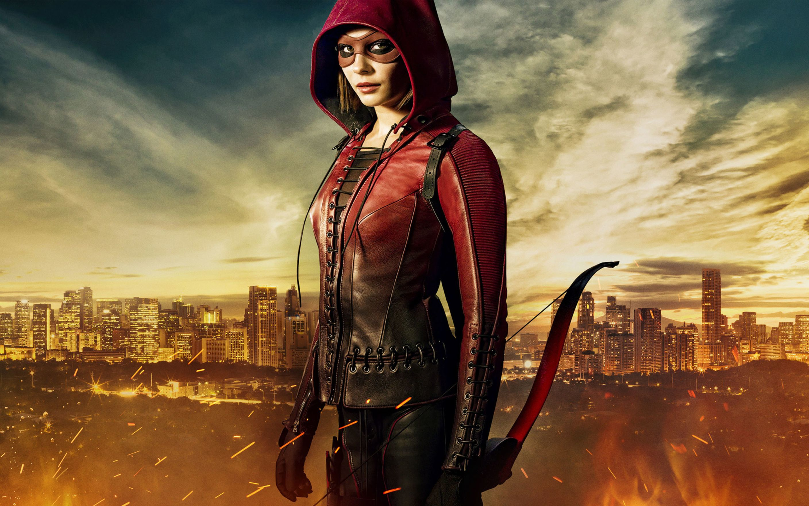 Download free HD Speedy Willa Holland Arrow Wide Wallpaper, image