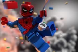 Spiderman Lego Cartoon HD for Android Wallpaper