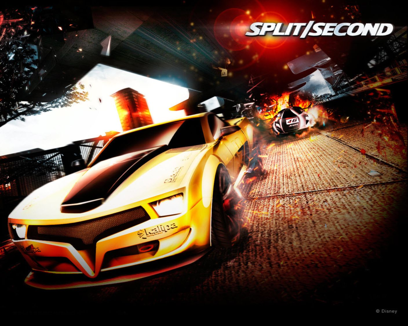 Download free HD Spilt Second Pc Game Normal5.4 Wallpaper, image