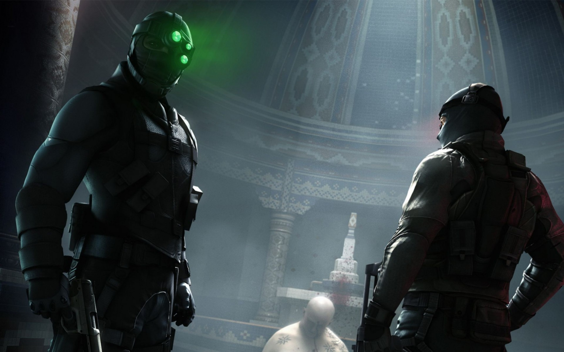 Splinter Cell Conviction 2010 Game Wide Wallpaper