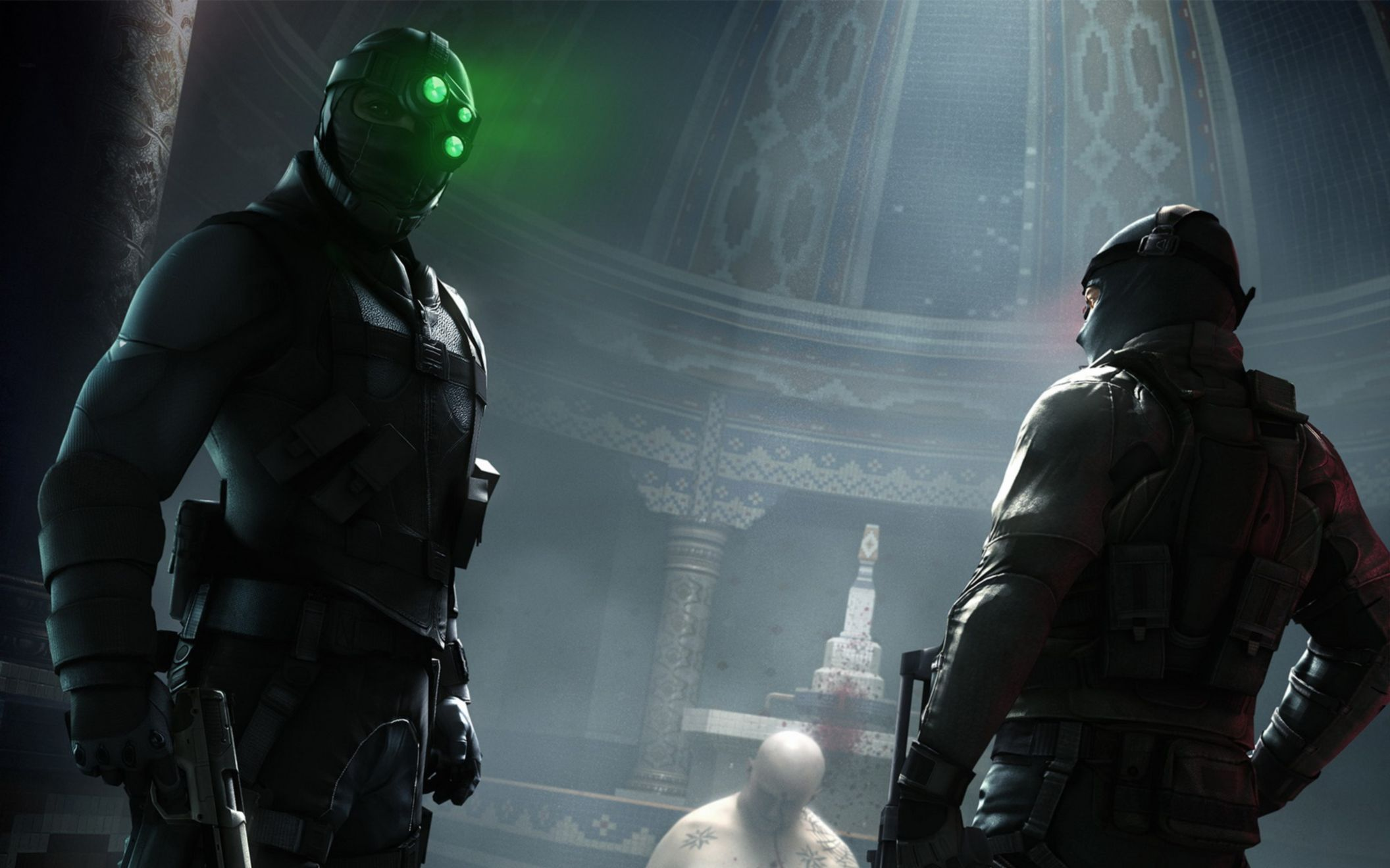 Download free HD Splinter Cell Conviction 2010 Game Wide Wallpaper, image