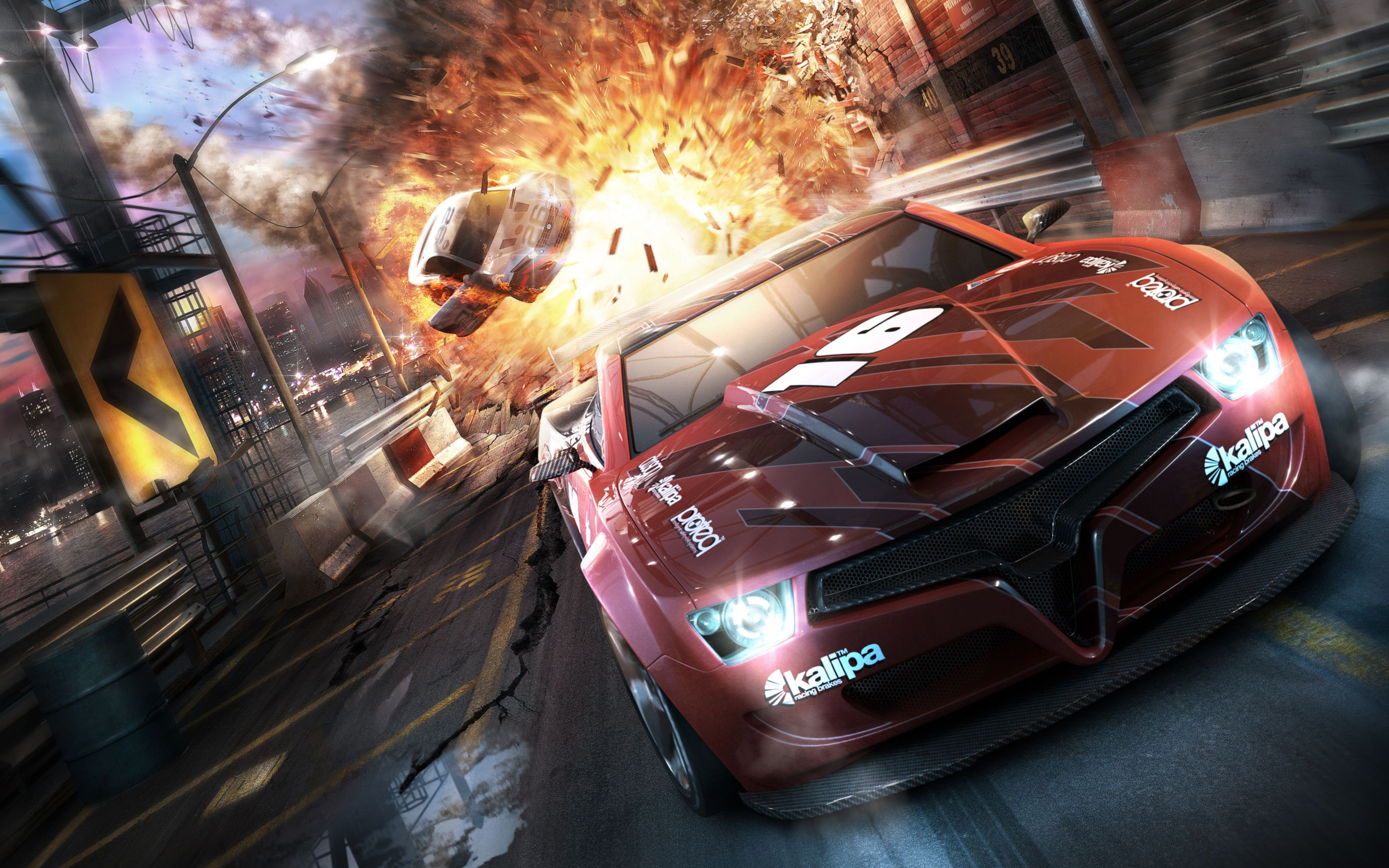 Download free HD Split Second Game Wide Wallpaper, image