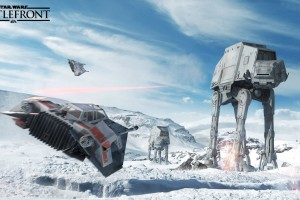 Star Wars Battlefront At At HD Wallpaper
