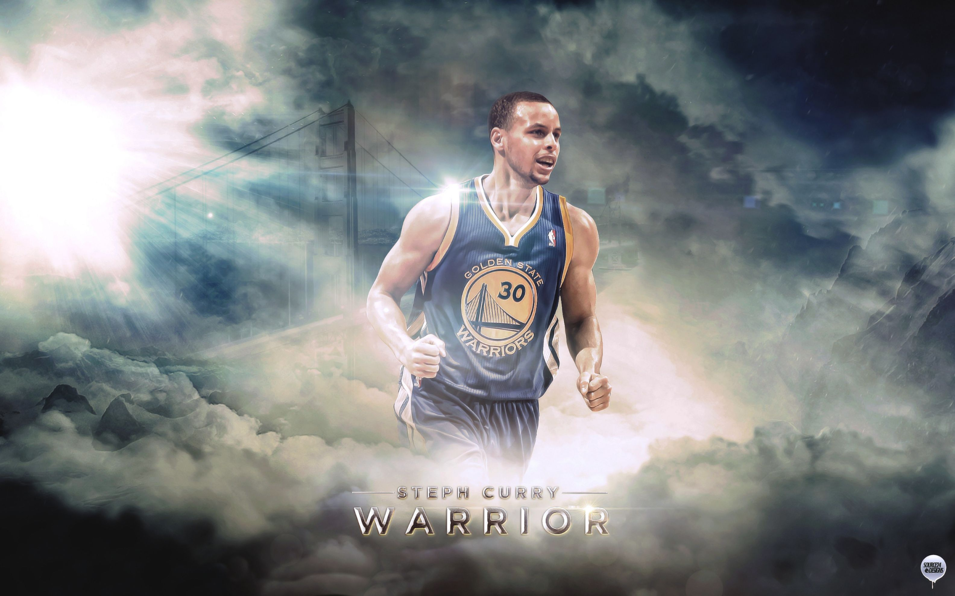 Download free HD Stephen Curry Basketball Player Wide Wallpaper, image