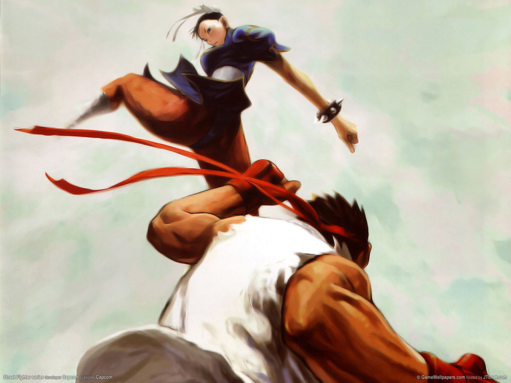 Download free HD Street Fighter Normal Wallpaper, image