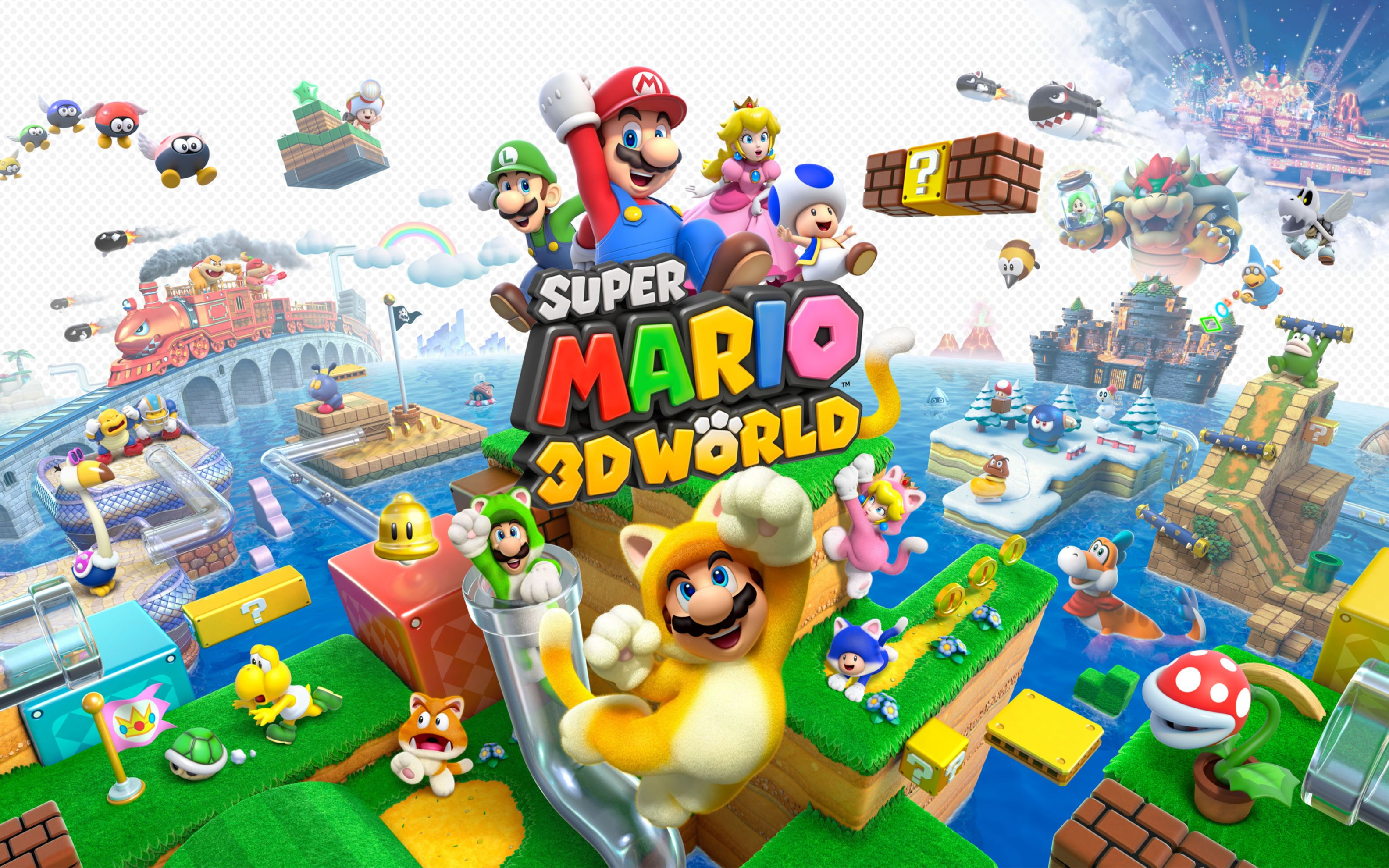 Download free HD Super Mario 3D World Wide Wallpaper, image