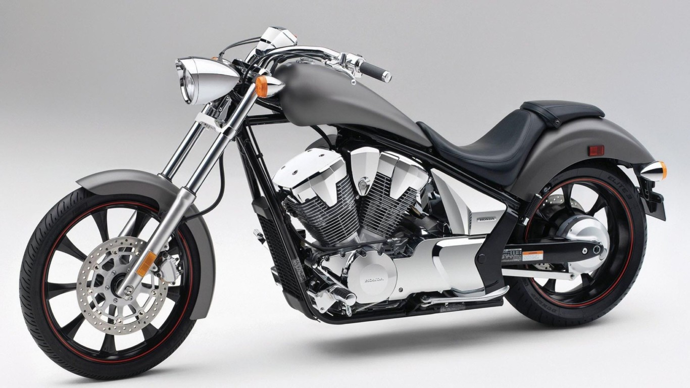Superb Dark Honda Fury Sports Bike Wallpaper