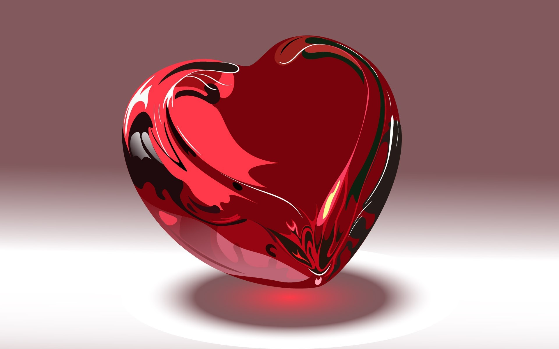 Sweet 3D Background Love Wallpaper