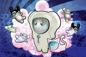 Sweet Cartoon HD for Windows 7 Wallpaper
