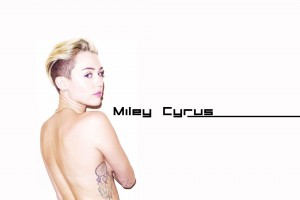Sweet Miley Cyrus HD 2014 Wallpaper