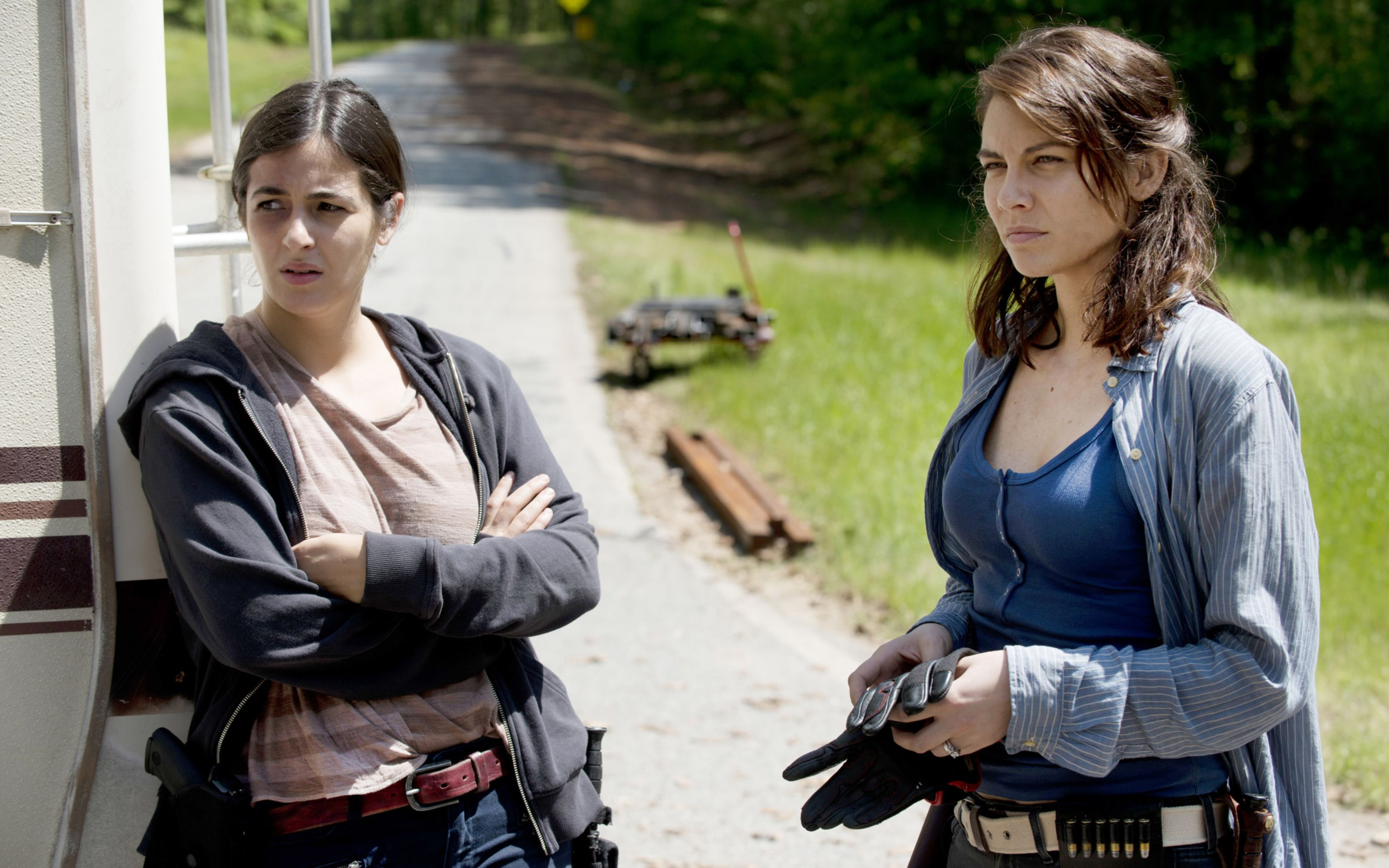Download free HD Tara Chambler Maggie Walking Dead Season 6 Wide Wallpaper, image