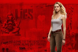 Teresa Palmer in Warm Bodies Wide Wallpaper