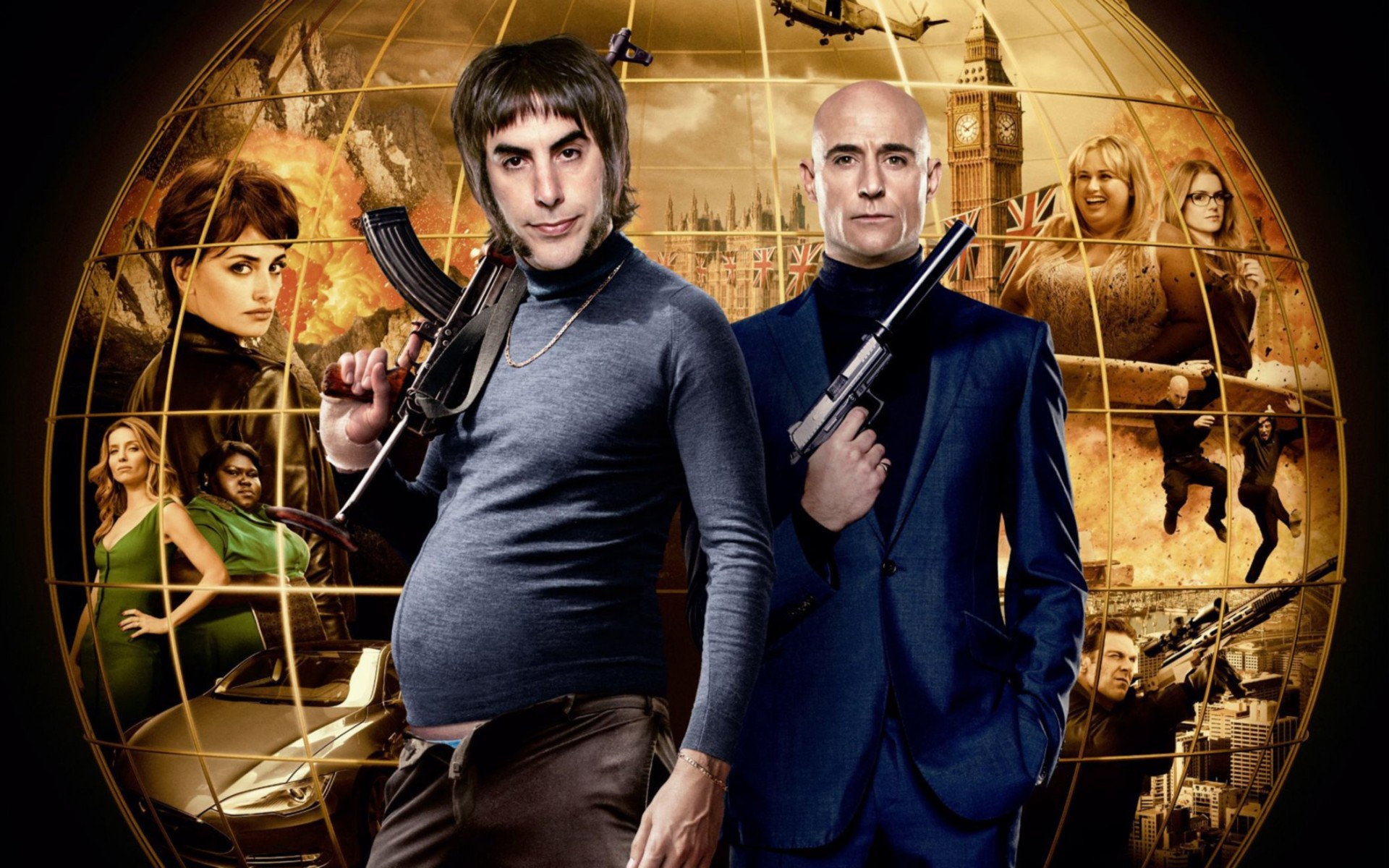 The Brothers Grimsby Wide Wallpaper