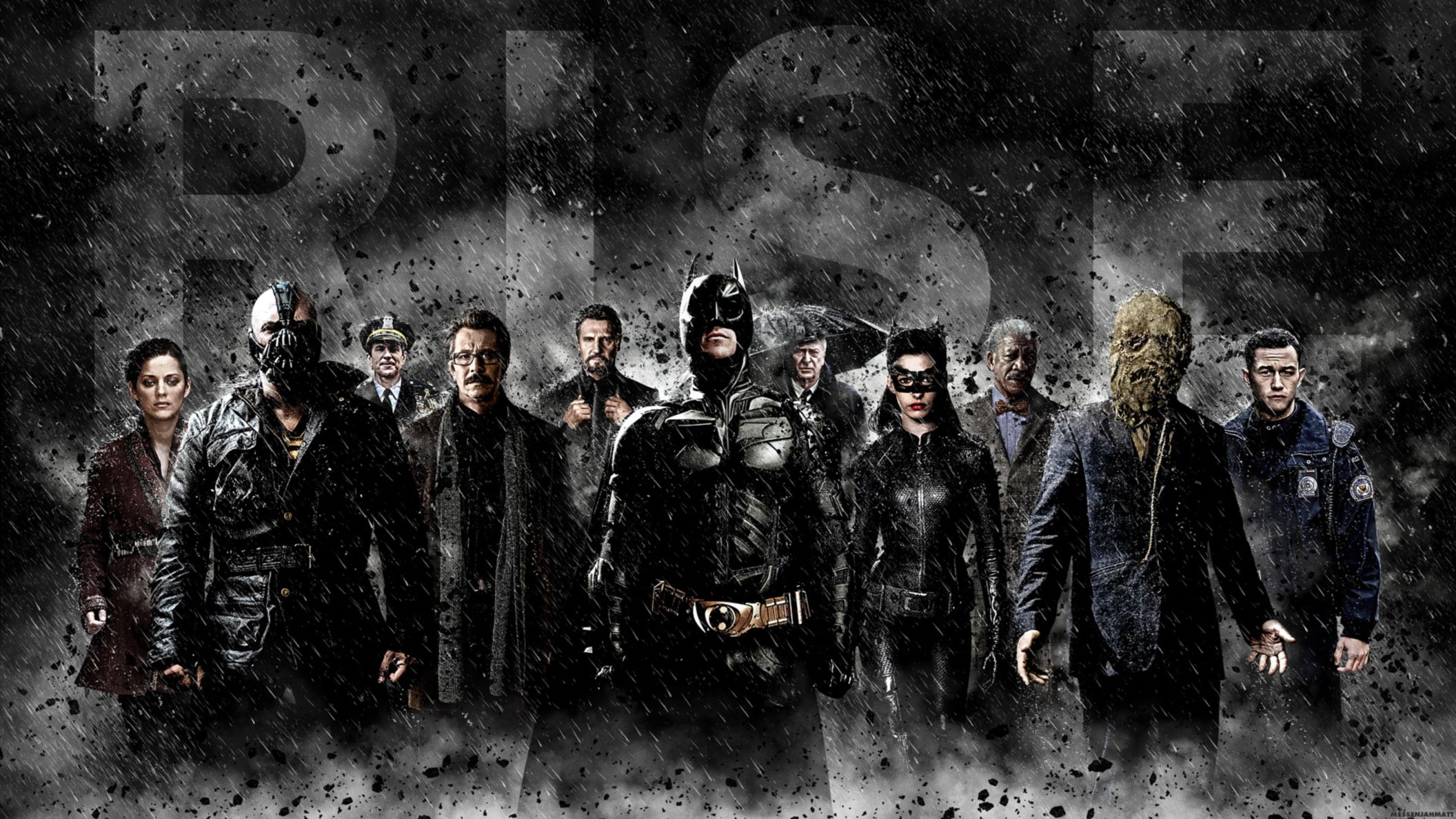 Download free HD The Dark Knight Rises Banner HD Wallpaper, image