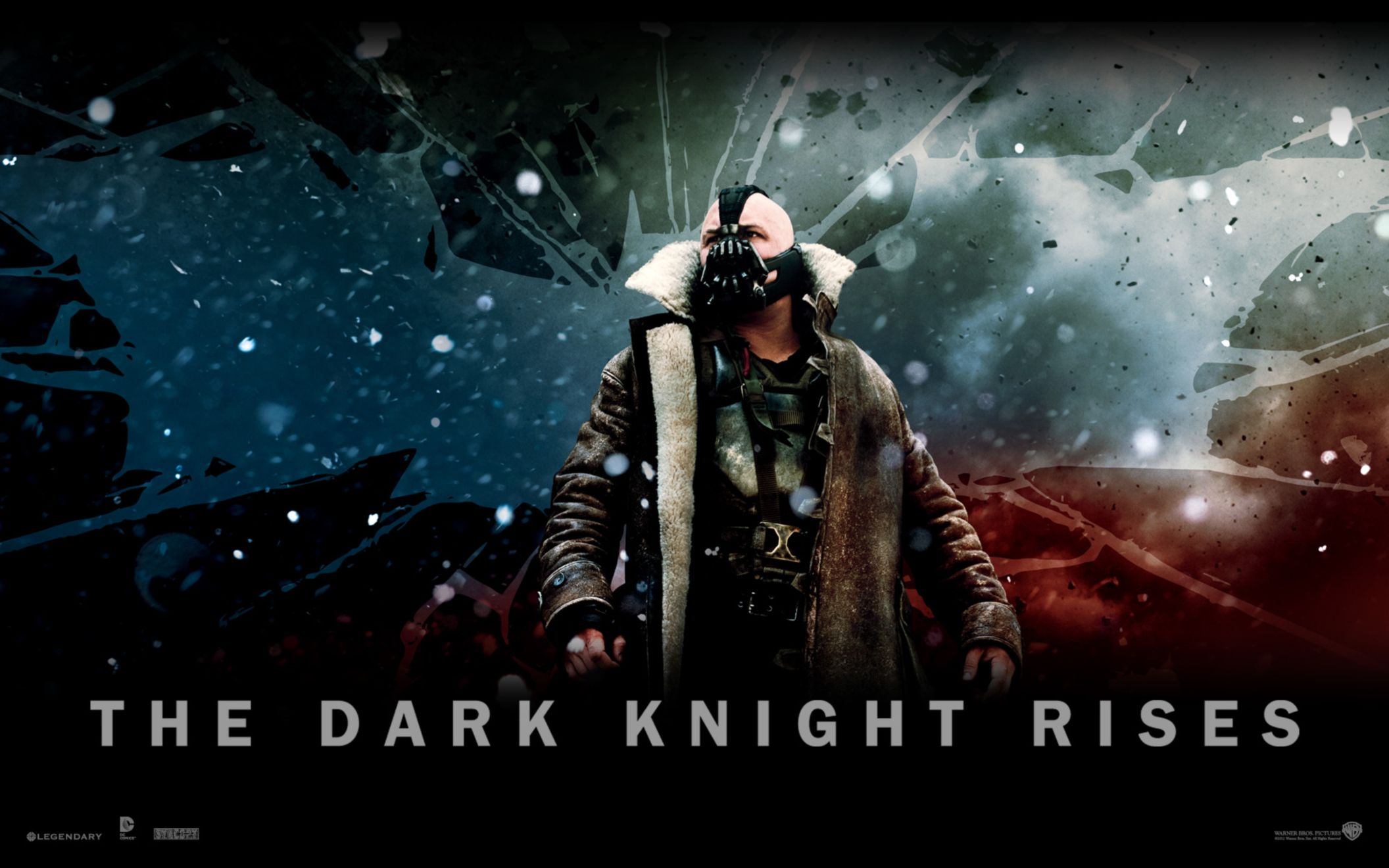 Download free HD The Dark Knight Rises Official 2 Wide Wallpaper, image