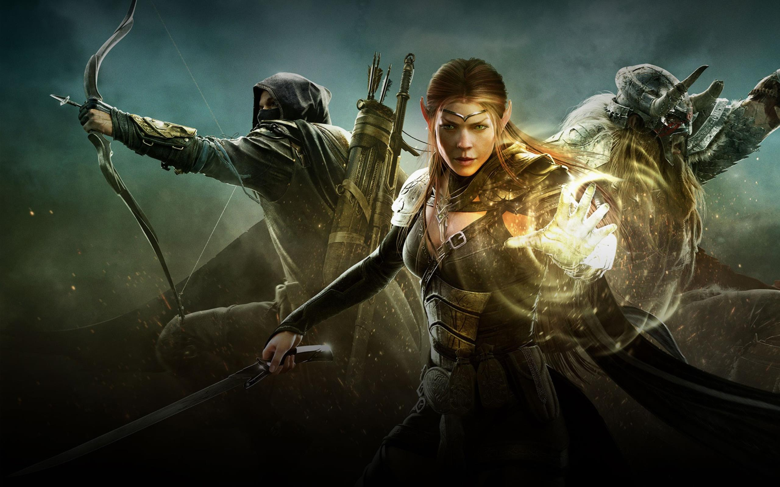 Download free HD The Elder Scrolls Online Game Wallpaper, image